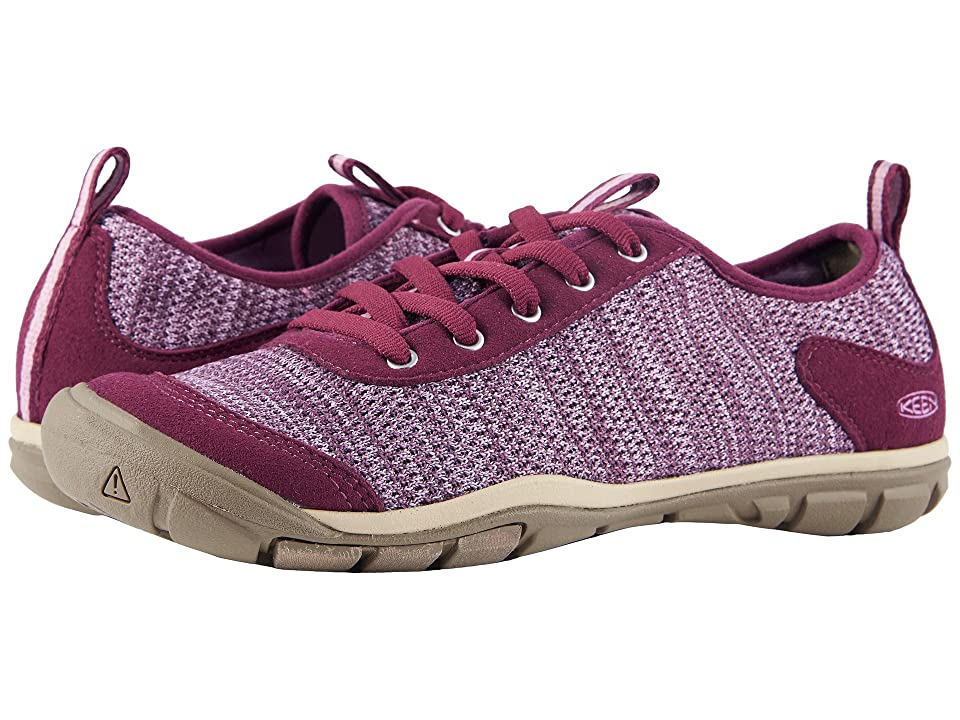Keen Hush Knit (Grape Wine/Lavender Herb) Women