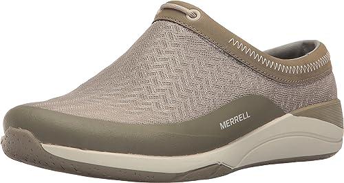 Merrell Wohommes Applaud MESH Slide Hiking chaussures, Taupe, 5.5 M US