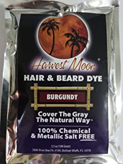 Natural Burgundy Beard Dye - 100 Grams