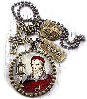 St. Raymond Nonnatus Necklace, San Ramon Nonato, Patron Saint, Catholic Confirmation, Boys Teens Men Unisex