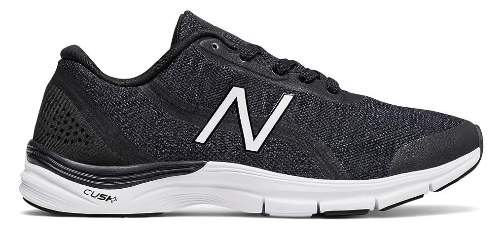 無秩序才能のある境界(ニューバランス) New Balance 靴?シューズ レディーストレーニング 711v3 Heathered Trainer Black with White ブラック ホワイト US 9 (26cm)