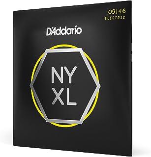 D'Addario NYXL0946 Nickel Wound Electric Guitar Strings, Super Light Top/Regular Bottom, 9-46