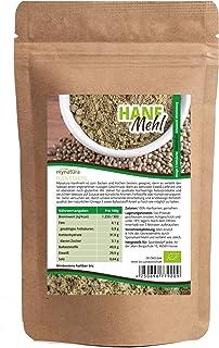 Mynatura Bio Hanfmehl | Glutenfrei, Cholesterinfrei, Nährstoffreich | Vegetarisch und Vegan | vielseitiges Lebensmittel in geprüfter Bio-Qualität DE-ÖKO-044 1000g
