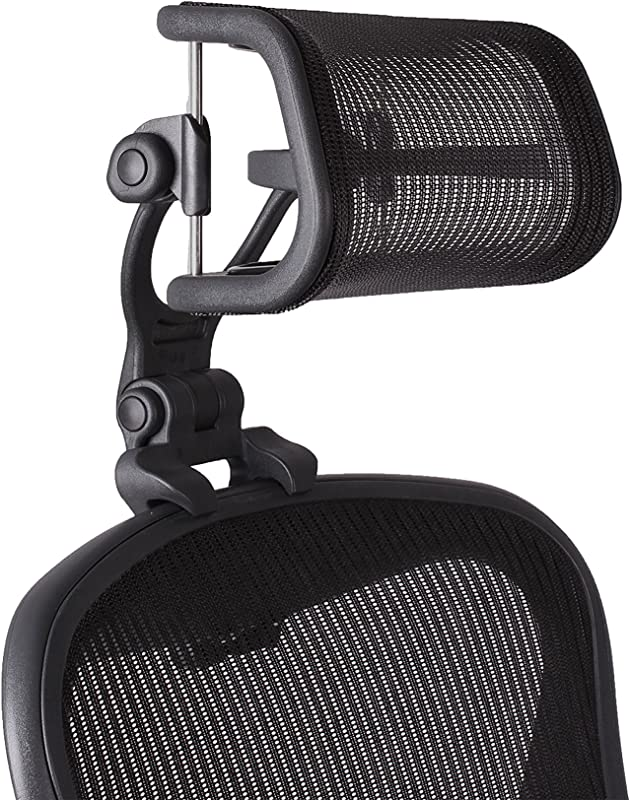 The Original Headrest For The Herman Miller Aeron Chair H4 Carbon Colors And Mesh Match Classic Aeron Chair 2016 And Earlier Models
