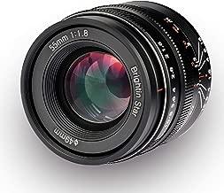 Brightin Star 55mm F1.8 Full Frame Large Aperture Manual Focus Lens for Canon RF Mount Mirrorless Cameras EOS-R EOS-RP
