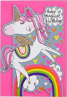 Rachel Ellen REDAR1 Little Darlings Unicorn Have a Magical Birthday Card