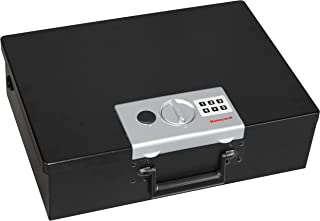 Honeywell Safes & Door Locks - 6110 Large Fire Resistant Steel Security Safe Box with Digital Lock, 0.48-Cubic Feet, Black