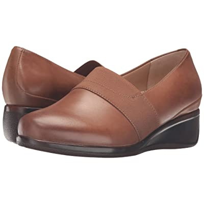 Trotters Marley (Cognac Tumbled Leather) Women