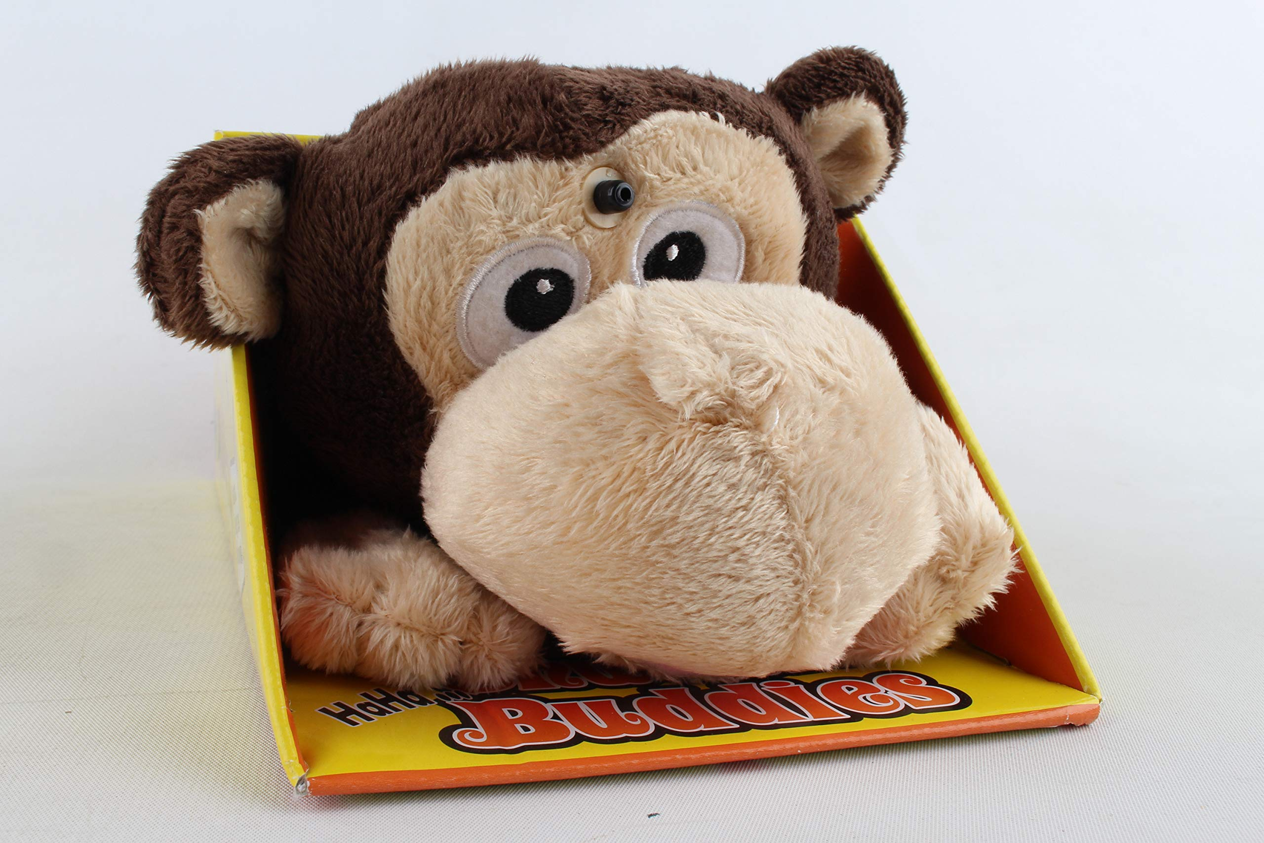 Chuckle Buddies Monkey Electronic Plush by Chuckle Buddies: Amazon ...
