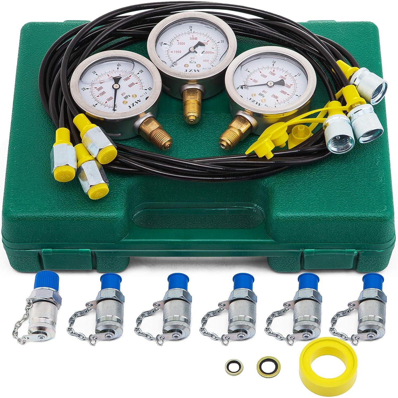 VEVOR Tucson Mall Hydraulic Pressure Test overseas Kit 25 Ga 60MPa 40