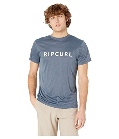 Rip Curl Blade Surflite Short Sleeve UV (Navy Marle) Men