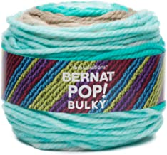 Bernat Pop Bulky Yarn, 9.8 oz, Gauge 6 Super Bulky, Carefree Seashore