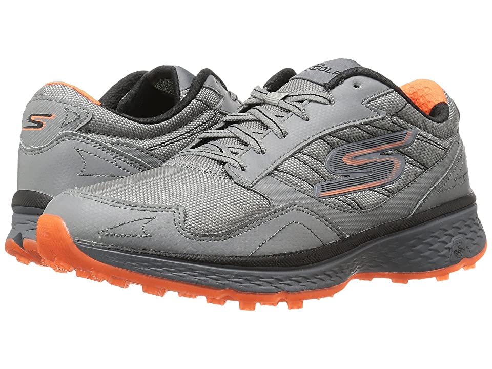 SKECHERS Go Golf Fairway (Gray/Orange) Men