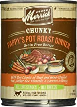 product image for Merrick Chunky Grain Free Pappy's Pot Roast Dinner Canned Dog Food
