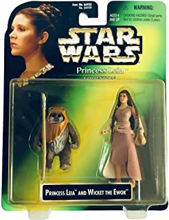 Star Wars Princess Leia And Wicket The Ewok Action Figures