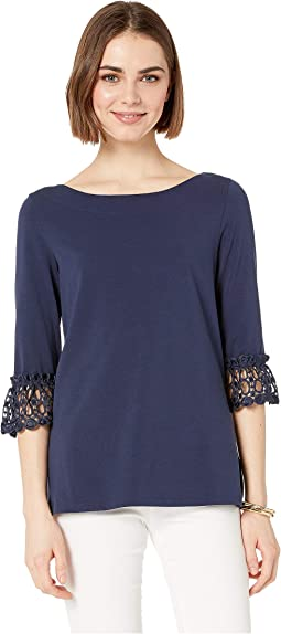 51922816193d26 Jil sander navy long sleeve cotton blouse | Shipped Free at Zappos