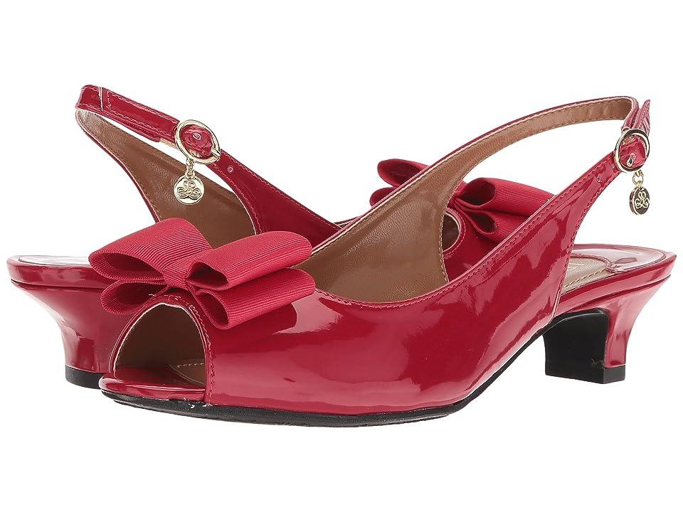 J. Renee Landan (Red Patent) High Heels