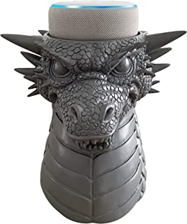 Dekodots Smart Speaker Table Stand (Dragon) - Decorative Holder for Amazon Echo Dot or Google Home Mini - Portable Design,...
