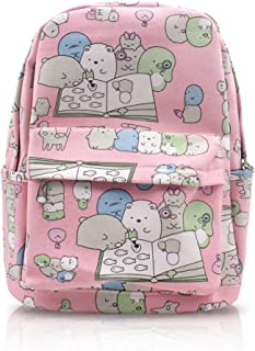 Finex San-X Sumikko Gurashi Things in The Corner Pink Canvas Daypack for Travel
