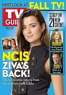 NO MAILING LABEL ---> TV Guide Magazine June 10-19 2019 Cote de Pablo NCIS
