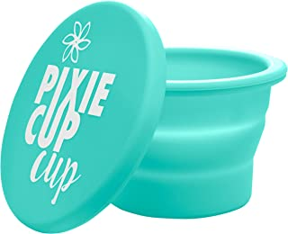 Pixie Cup Cup - Collapsible Silicone Cup for Sterilizing Menstrual Cups and Storing Your Period Cup - Foldable for Travel