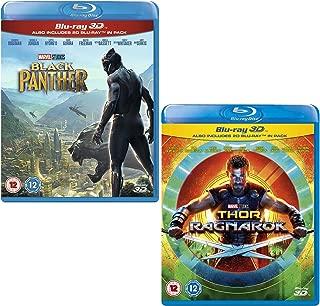 Black Panther (3D + 2D) - Thor Ragnarok (3D + 2D) - Marvel 2 Movie Bundling Blu-ray