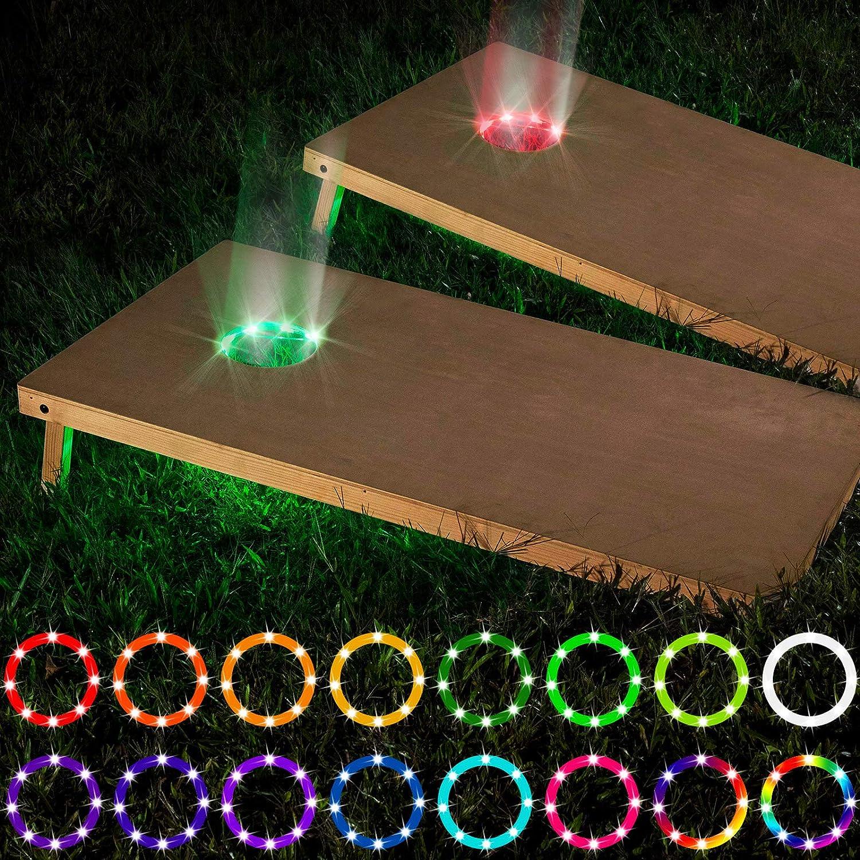 LED Cornhole Lights Popularity Remote Board Control Ring Sale item Ligh