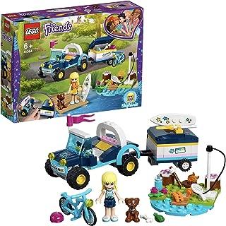Lego Stephanie's Buggy & Trailer (Multi Color 41364)