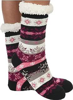 Womens Sherpa Socks | Nordic Sherpa Socks for Women | Cozy Fuzzy Socks