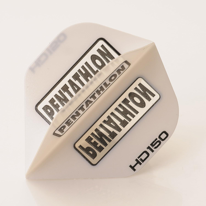 PerfectDarts 5 x Sets of Pentathlon Tough New mail order Dart Fashion Super White HD150