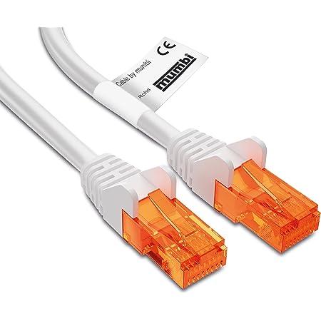 Mumbi Lan Kabel 5m Cat 5e Netzwerkkabel Cat5e Ethernet Computer Zubehör