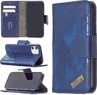 [BF04] Etui do Apple iPhone 12 A2172 A2402 A2403 A2404 etui na telefon z klapką na zamek błyskawiczny portfel etui skóra 5