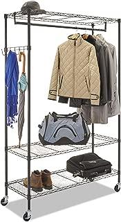 Alera Wire Shelving Garment Rack (Black)