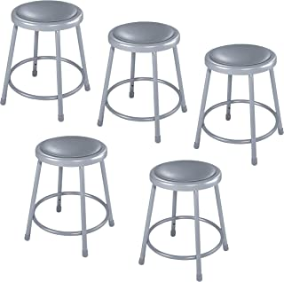 National Public Seating 6418-CN Steel Stool with 18