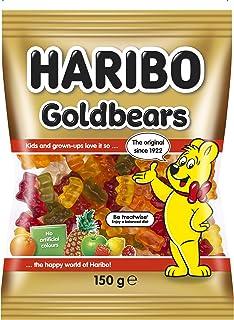 HARIBO Goldbears Gummy Candy, 150g | Pineapple, strawberry, lemon, orange, raspberry