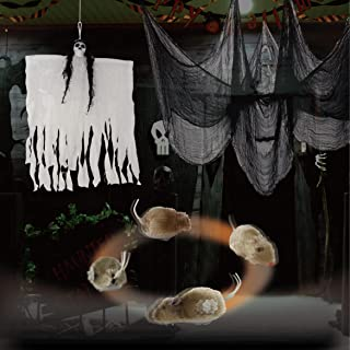 Halloween Decorations Set with 26.5 Inch Hanging Flashing...