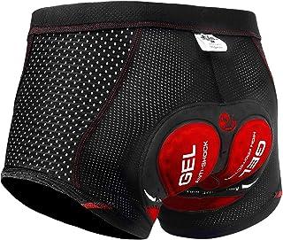 X-TIGER Men's Cycling Underwear Shorts 5D Padded Gel,MTB...