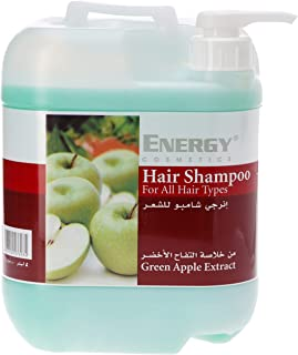 ENERGY COSMETICS Hair Shampoo with Green Apple Extract, 5 Litre