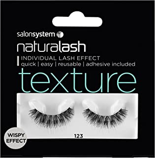 SalonSystem Naturalash Individual Lash Effect - Adhesive Included - Texture 123