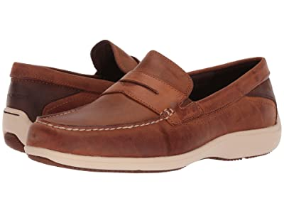 Rockport Aiden Penny (Caramel) Men