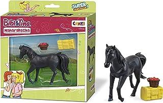 CRAZE BIBI & Tina Maharadscha figurka do kolekcjonowania i zabawy koń figurka do zabawy wraz z akcesoriami 19214, kolorowa
