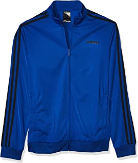 adidas Men's Essentials 3-stripes Tricot Track Jacket