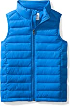 Amazon Essentials Boy's Lightweight Water-Resistant Packable Puffer Vest