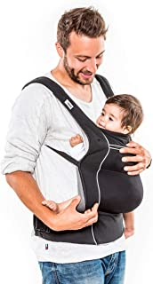 Hauck Close To Me, Ergonomic Baby Carrier, 0M+ to 12 kg - Black
