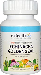 Echinacea - Goldenseal - Freeze Dried Concentrate Eclectic Institute 90 VCaps