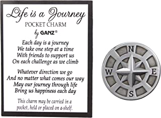 Pocket Tokens (Life Is a Journey Compass)