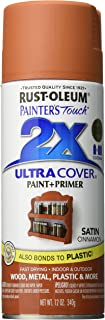 Rust-Oleum 249084 Painter's Touch 2X Ultra Cover, 12-Ounce, Satin Cinnamon