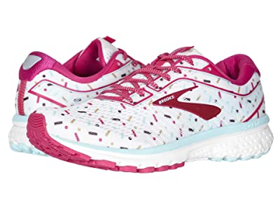 Brooks Zappos 20th x Ghost 12 (White/Beetroot/Turquoise) Women