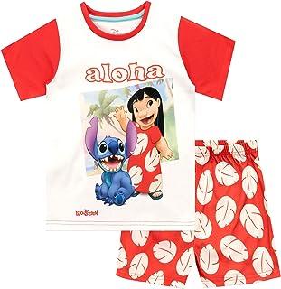 Pijamas de Manga Corta para niñas Lilo & Stitch