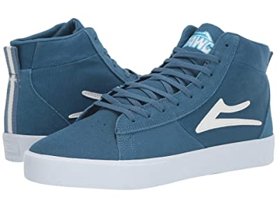 Lakai Newport Hi (Blue Suede) Men